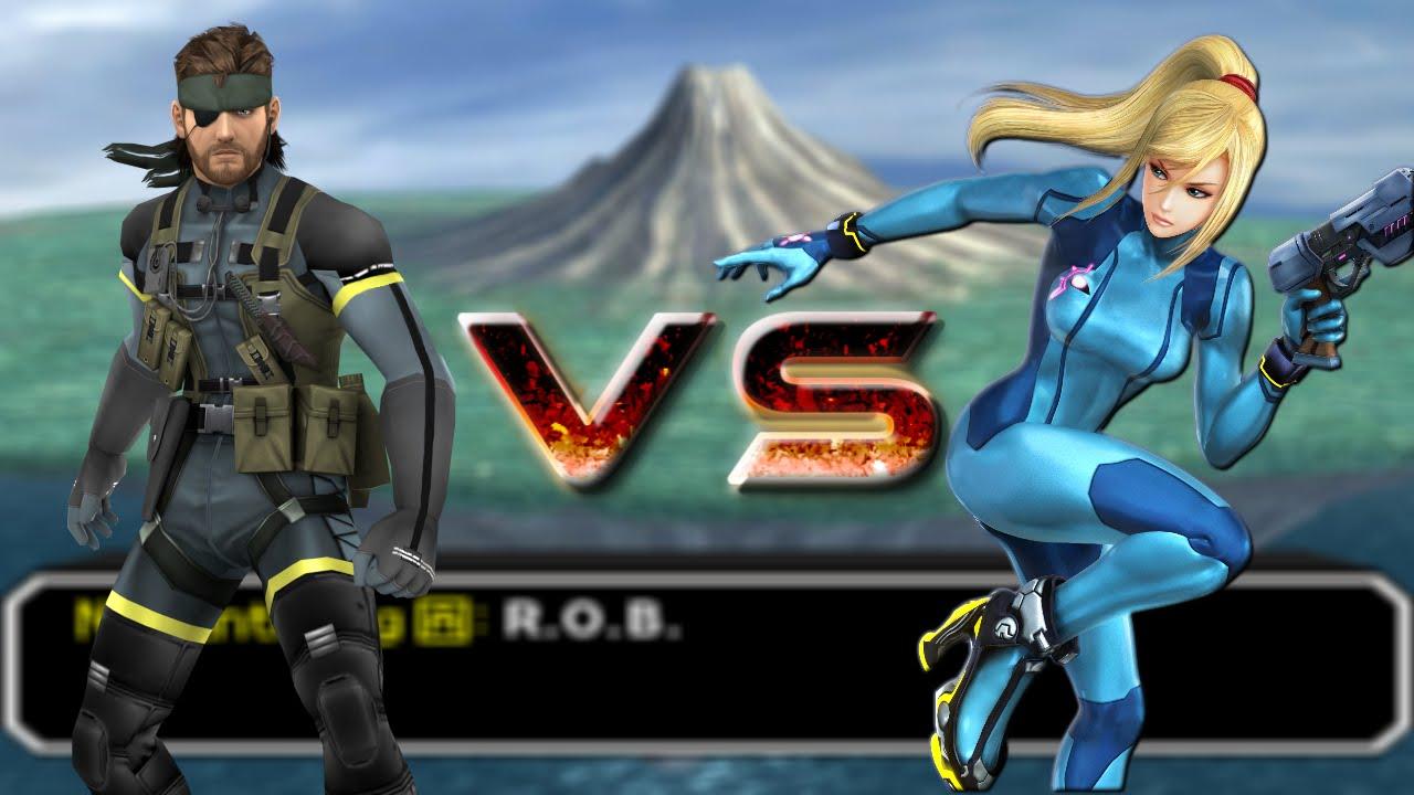 [SSBB TAS] Snake vs. Zero Suit Samus - YouTube