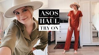 ASOS TRY ON HAUL | 70'S JUMPSUITS | ANDREA CLARE