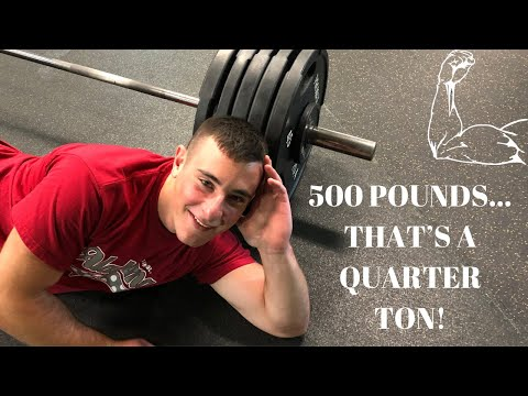17 YEAR OLD DEADLIFTS 500 POUNDS (BELTLESS) AT 180 BODYWEIGHT!