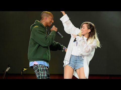 Pharrell Williams &  Miley Cyrus - Happy (Live at One Love Manchester 2017)