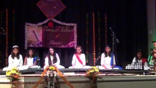 Pal Pal Har Pal Instrumental - by an all Girls band - the students of Swasti Pandey