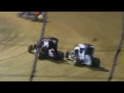 Clyde Martin Memorial Speedway 600cc A-main 8/16/2016