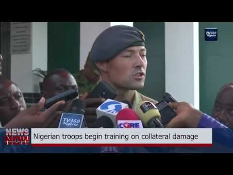 Nigerian troops begin training on collateral damage