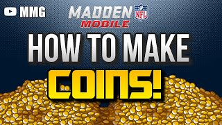 How to Make MILLIONS of Coins in Madden Mobile 16