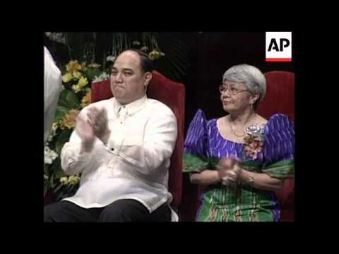 PHILIPPINES: ANNUAL RAMON MAGSAYSAY AWARDS UPDATE