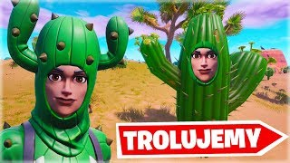 WE TROLUJEMY PLAYERS NEW SKINS! | Fortnite Creative