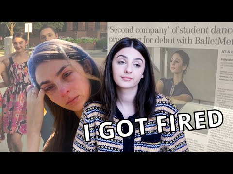 I GOT FIRED FROM MY BALLET COMPANY |Story Time|