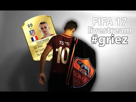 FIFA 17 CZ | Ultimate Team | GRIEZMANN! [LIVE]