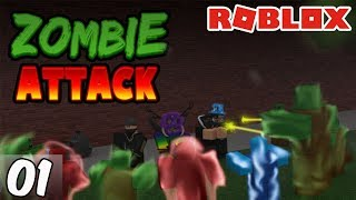 Roblox | Zombie Attack | Episode 1