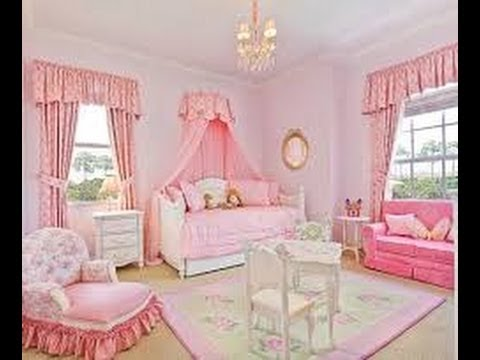Decora el cuarto para tu princesa decoraci n de cuartos infantiles ni as youtube - Decoracion habitacion de ninas ...