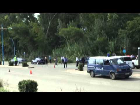 Durrës, aksidentohet eskorta e Presidentit Bujar Nishani