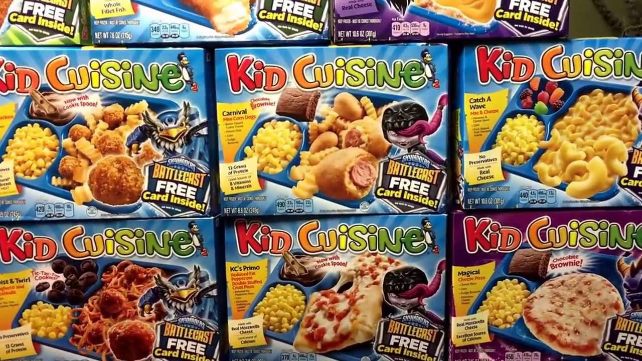 skylanders kids cuisine promo boxes featuring battlecast - youtube