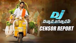 Allu Arjun DJ Duvvada Jagannadham Movie Censor Report | Pooja Hegde | Telugu Video Gallery