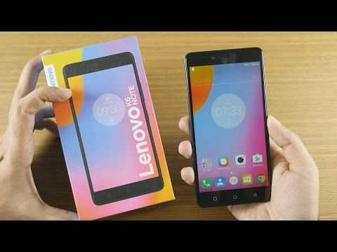 Lenovo K6 Note Unboxing & Hands On Overview