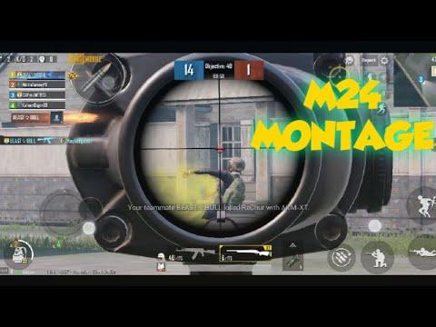 M24 MONTAGE (PUBG MOBILE)