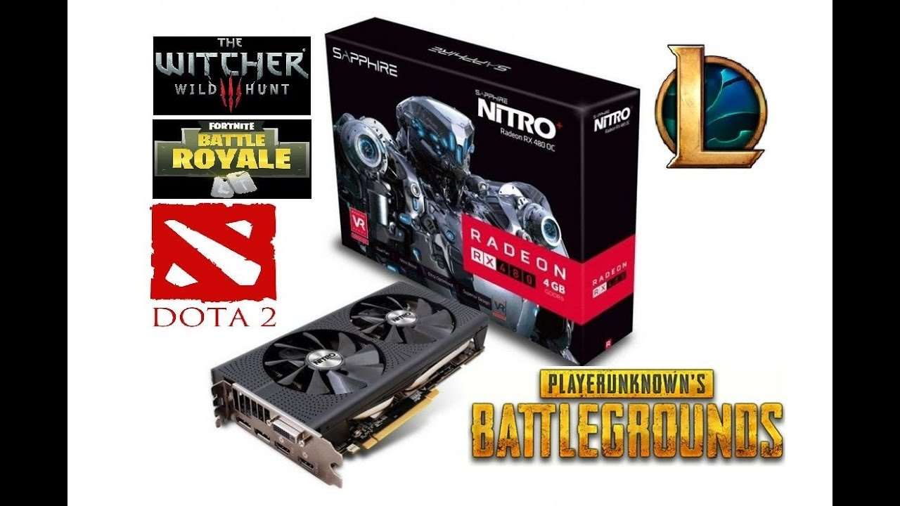 AMD Radeon RX480 4GB in 2019 (5 games tested)