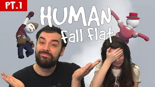 Floppy Drunk People... aka Human Fall Flat (funny moments)