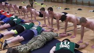 PRMC TIPS - PUSH UPS - What to expect on the day!