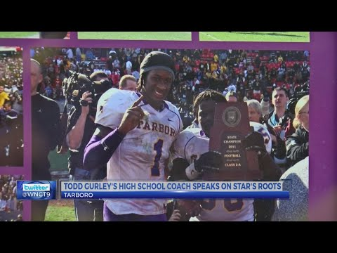 Gurley's rise to stardom; his early years at Tarboro High School