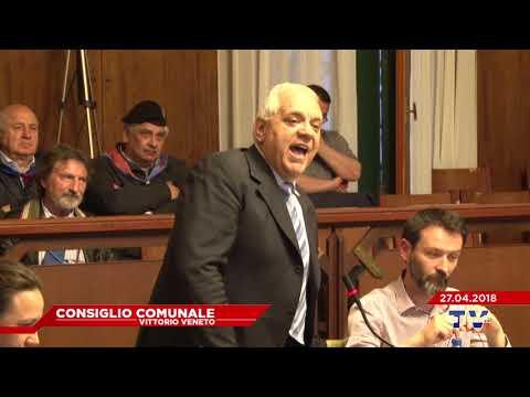 CONSIGLIO COMUNALE VITTORIO VENETO - Seduta del 27.04.2018