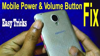 How to fix mobile volume button | Volume rocker button damage | Replacement of volume button