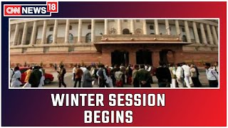 First Winter Session Of Modi 2.0 Underway   CNN News18