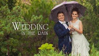 Wedding in the rain  2014(Wedding in the rain, Rain wedding, 2014, 2015, Свадебный клип, Свадебная прогулка под дождем, Свадьба в дождь, Свадьба под дожде..., 2014-12-05T17:32:37.000Z)