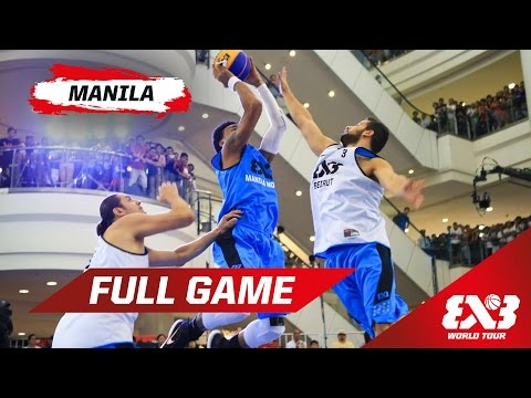 Beirut (LIB) vs Manila North (PHI) - Full Game - Manila - 2015 FIBA 3x3 World Tour