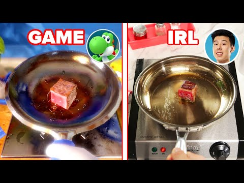 "We Played A ""Mario Party"" Cooking Minigame In Real Life • Tasty"