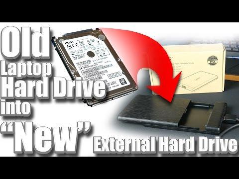 Turn an Old Laptop Hard Drive into an External Hard Drive