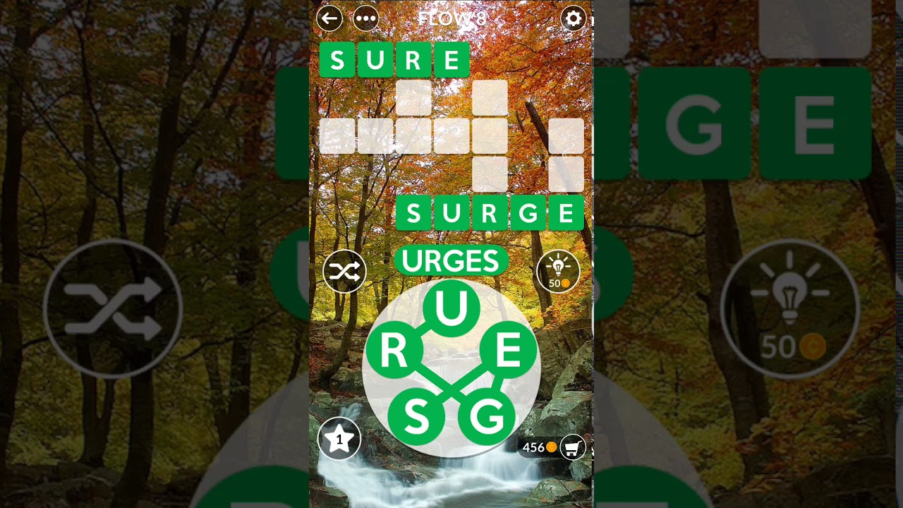 SOLVED Wordscapes Answers - (FOREST - Flow) Level 1-16 ...