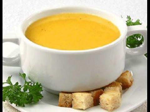 Суп пюре крем из тыквы