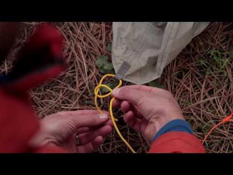 Guyline system & knots for tents, tarps, & hammocks, with Andrew Skurka