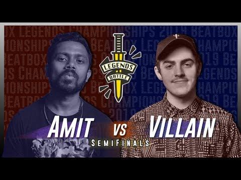 Amit vs Villain | Beatbox Legends Championships 2019 | Semifinals