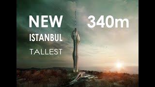 Camlica TV Tower / Çamlıca TV Kulesi - 340m