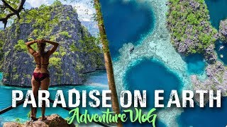 CORON PALAWAN ( Free diving & Island hopping) Philippines travel vlog