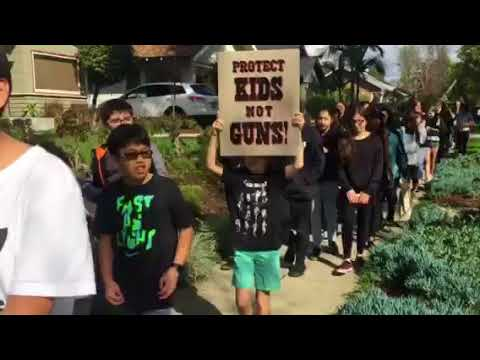 Student Walkout at South Pasadena Middle School