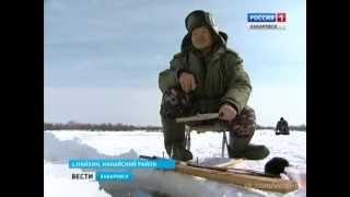 Зимняя рыбалка ,  клев корюшки// ловля на самодельный круг // Хабаровский край