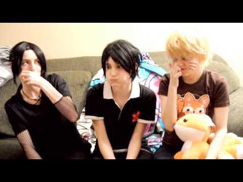 Chubby Bunny with Naruto Sasuke and Itachi