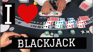 Wild Blackjack Session -  Playing the Math VS Forcing The Action