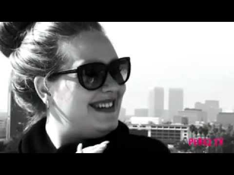 Adele interviewed by Perez Hilton