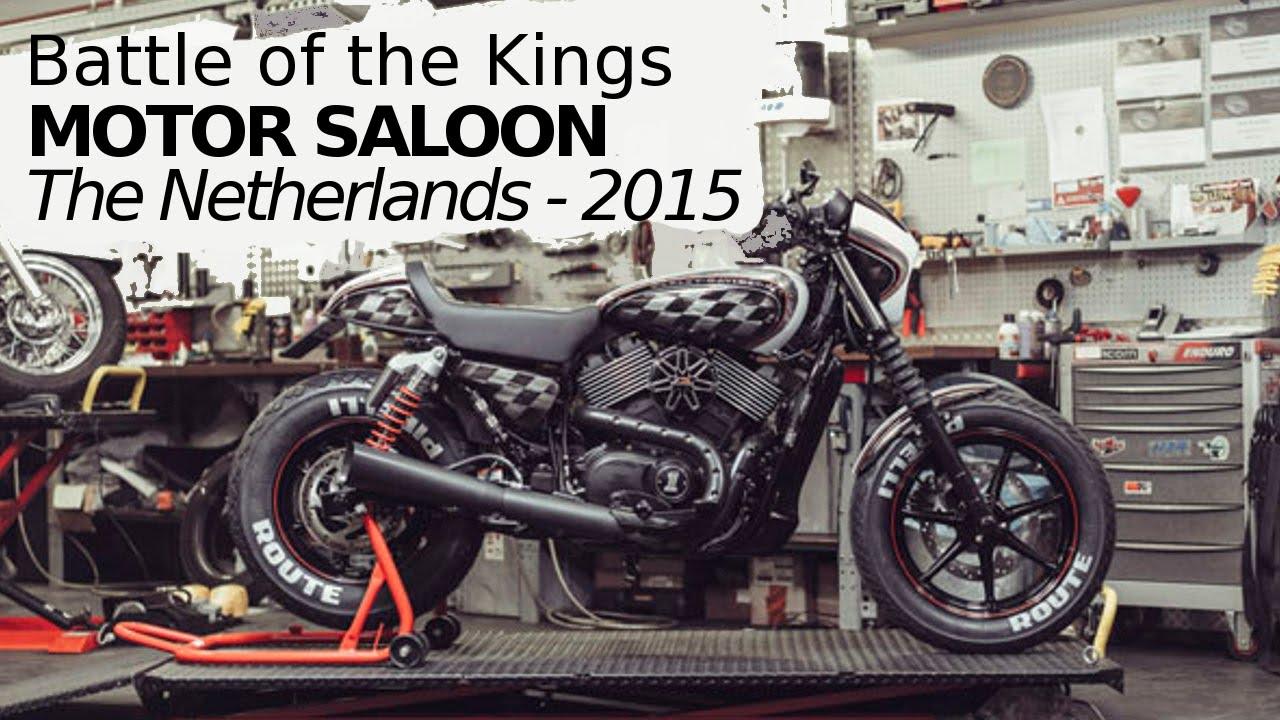 Harley Davidson Street 750 Custom by MOTOR SALOON