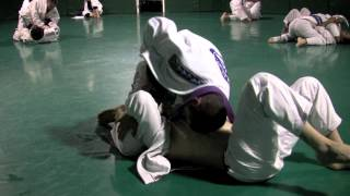 Rener Gracie vs. Purple Belt (Both Hands Tied Down) from GracieUniversity.com