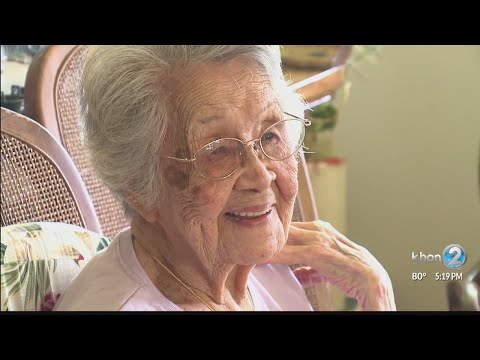 The secret to a long life from a 105-year-old woman
