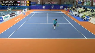 BESSONOV Dmitry (RUS) VS GOVERNATORI Jimmy (FRA) - Tennis Club Auray - Auray 4