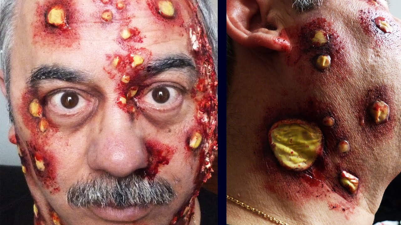video maquillage halloween zombie