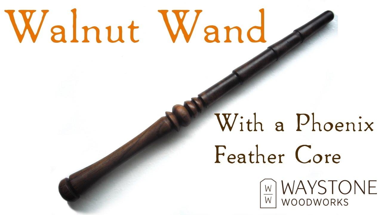 Walnut Wand