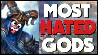 Smite - Top 5 Most HATED Gods!