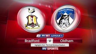 Bradford City vs Oldham Athletic vlog 2016