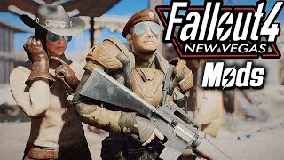 NCR in Fallout 4 (New Vegas Armors Overhaul Mods) XBOX & PC